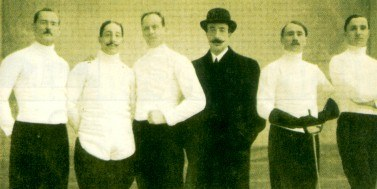 Italian_Team_Sabre_at_1908_Summer_Olympics